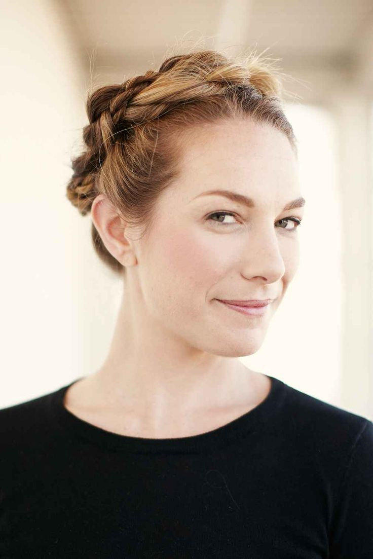 Style 1: Fake A Milkmaid Braid  Photographed by Aeschleah DeMartino