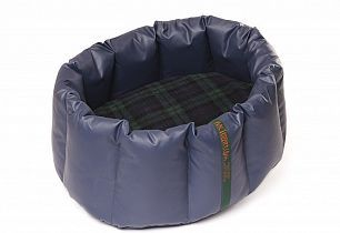 The MacTurriff Waterproof Nest Bed™, is the ultimate in luxury for your four legged companion.  It appeals to the den instinct of our dogs, giving them their own place to curl up and feel safe and secure. Large Navy Nest with a Black Watch Tartan Luxury Fleece Cover. $295.00