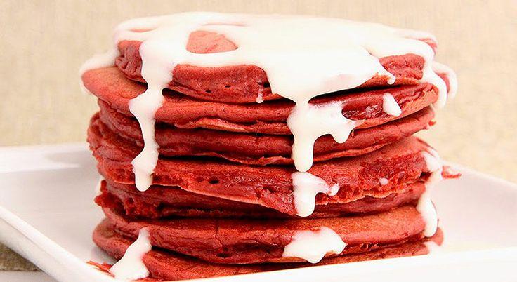 Panquecas Red Velvet – @cesarcocinero