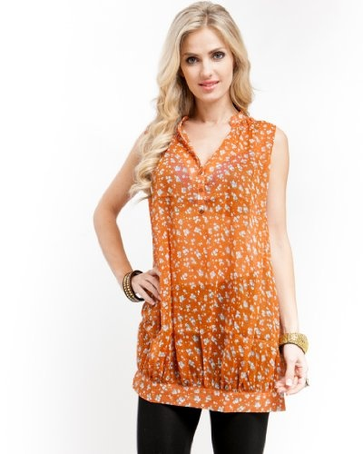 Mod 20 Women's Floral Bouquet Tunic Top « Clothing Impulse