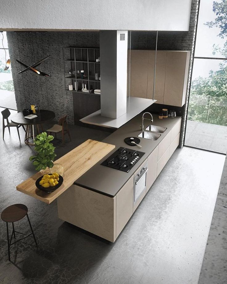Follow @highclass_homes For More Incredible Homes!   Love This Contemporary Kitchen  Design By Michele