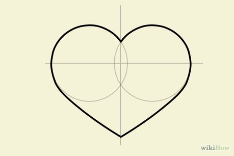 Comment dessiner un cœur: 15 étapes (avec des photos)