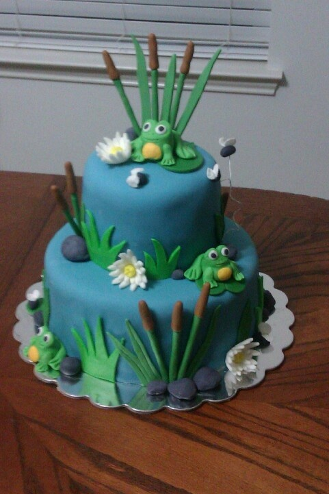 Frog Cake How To