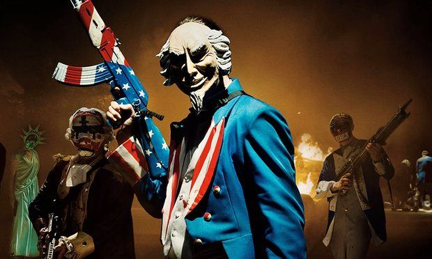 """""""The Purge: Election Year"""" – movie review by Screen Zealots #thepurge #thepurgeelectionyear #horror #ElizabethMitchell"""