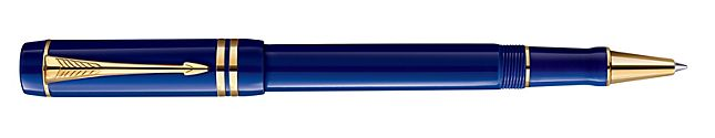 The Duofold Lapis Lazuli Parker Pen, this is the pen that Valerio writes his letters to Eadlin.