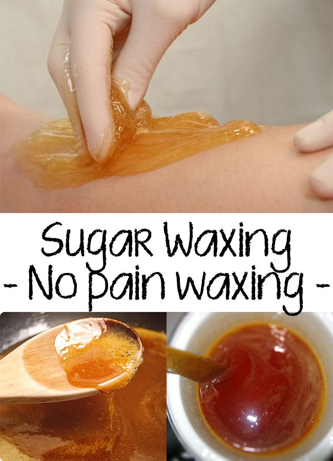 Amazing! Find out a new method of waxing with no pain! SUGAR WAXING is very cheap, you can easily use it at home and is NO PAIN WAXING! See the recipe here
