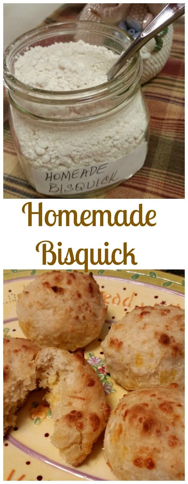 I've used this simple recipe for years. Use it just as you would Bisquick.  It's really great to have this on hand with all the holiday b...