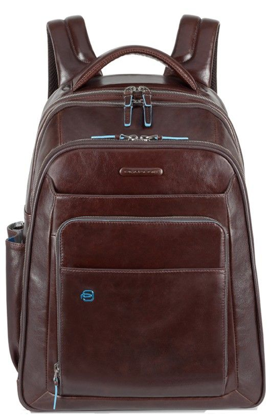 Casual Piquadro Blue Square CA1813B2 Laptop Backpack Brown