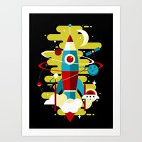 Art Print featuring Cosmos by koivo