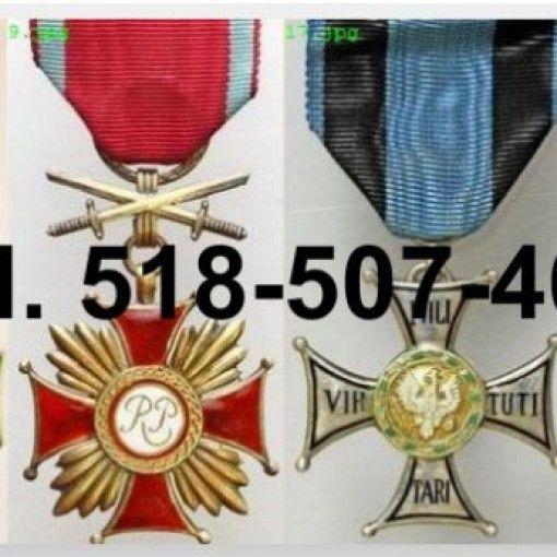 Kupię stare medale, odznaki, ordery, wpinki i inne pamiątki