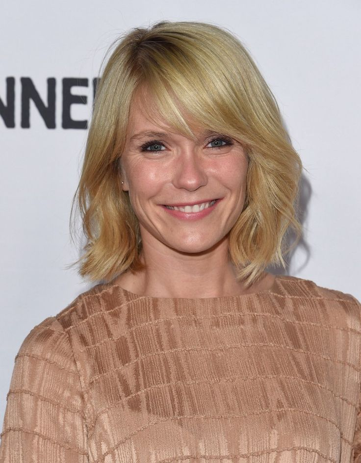 Katie Aselton Short cut with bangs