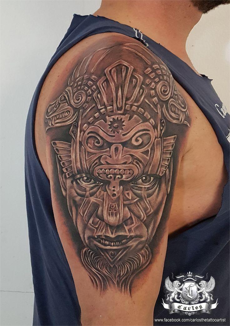 Black and Grey tattoo, Realistic tattoo