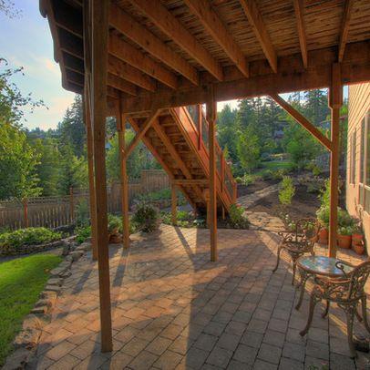 39 best under deck spaces images on pinterest | deck patio ... - Under Deck Patio Ideas