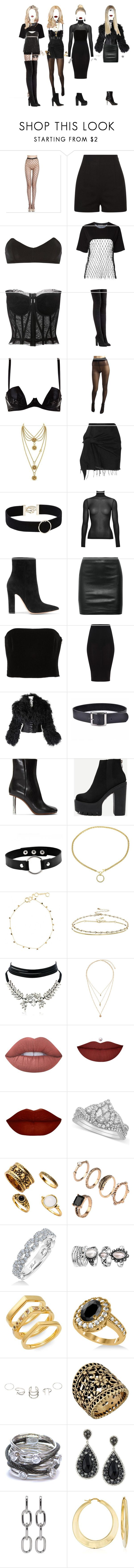 """F.JO"" by xxeucliffexx ❤ liked on Polyvore featuring Fleur du Mal, Filles à papa, Dolce&Gabbana, adidas Originals, Wolford, Juicy Couture, Marques'Almeida, Witchery, Gianvito Rossi and The Row"
