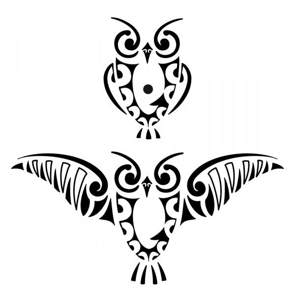 Tattoos Case: Tribal Owl Tattoo Designs