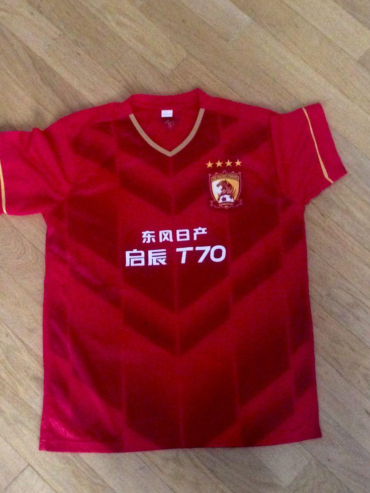 Guangzhou Evergrande, China. Original T-shirt/Maglia originale