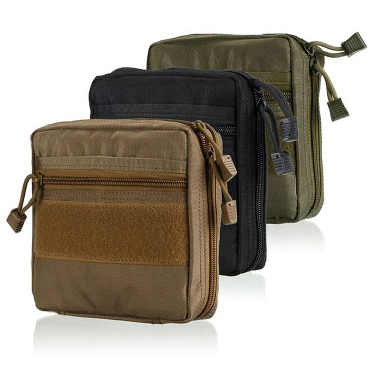 Waterproof Military MOLLE EMT First Aid Kit Survival Gear Bag Tactical Multi Medical Kit or Utility Tool Belt EDC Pouch