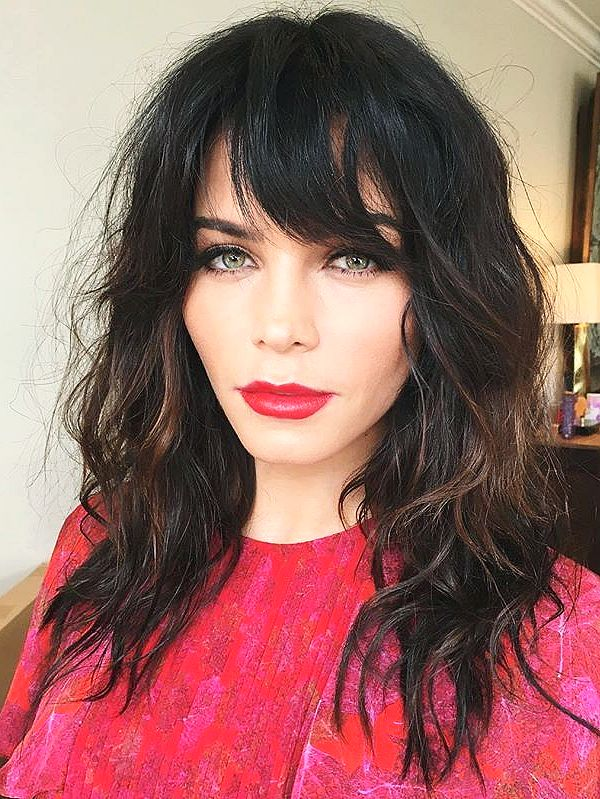 Celebrity Bangs Trend - The IT Girl hairstyle of 2017 | Jenna Dewan Tatum