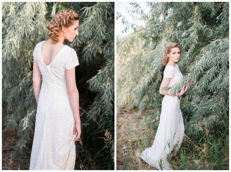 Idaho Styled Bridal Shoot. Photos by Casey James Photography are a combination of film as