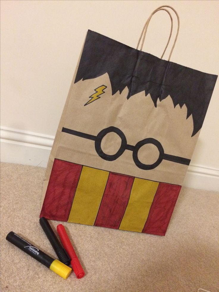 DIY Harry Potter Gift bag