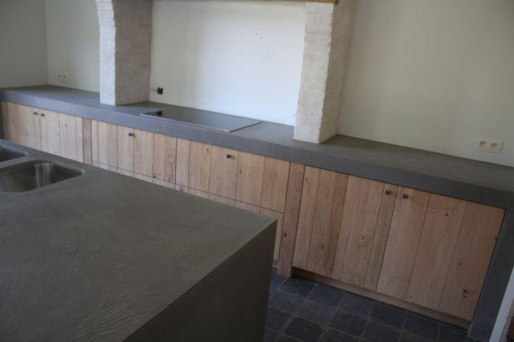 Keuken nieuwbouw texture painting alle mortex toepassingen en