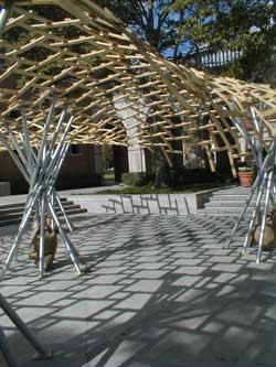 Sba Bamboo Roof Structure Diy Amp Paper Pinterest