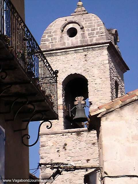 A old French bell tower in Anduze.