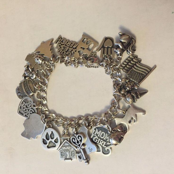 #JamesAvery Bracelet with 21 Charms