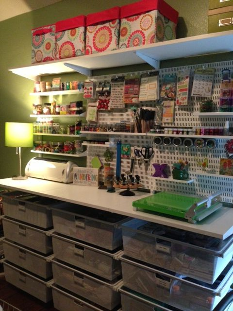 1000 Images About Final Elfa Craft Room Ideas On