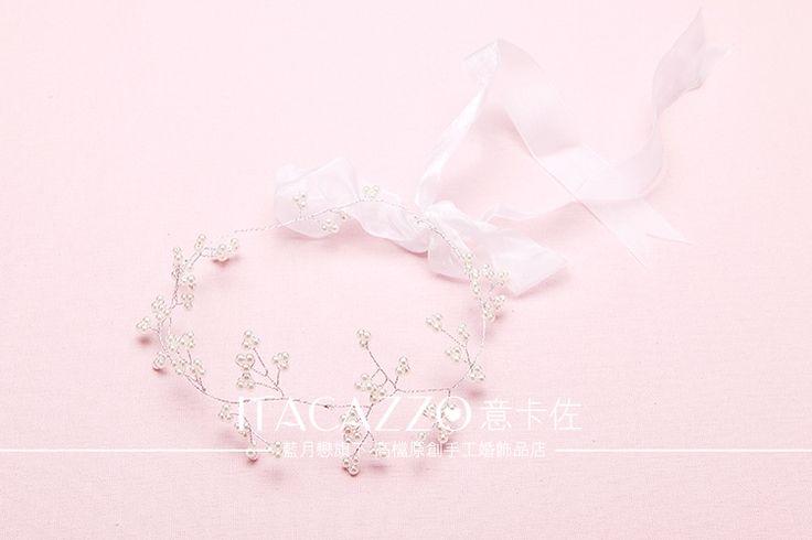 Итальянские Казо корейских невесты головной убор ленты для волос украшения для волос ручной работы свадебное платье невесты свадебные украшения свадебные волосы группа с -tmall.com Lynx
