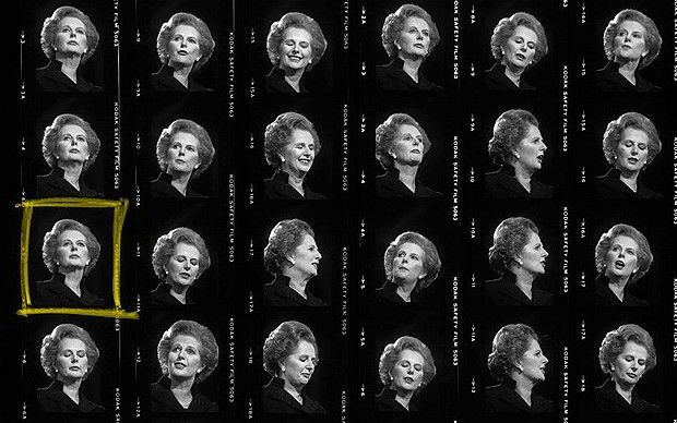 Margaret Thatcher by Peter Marlow