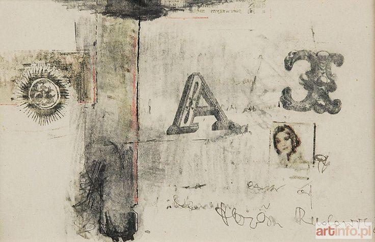 Teresa RUDOWICZ ● A ● Aukcja ● Artinfo.pl
