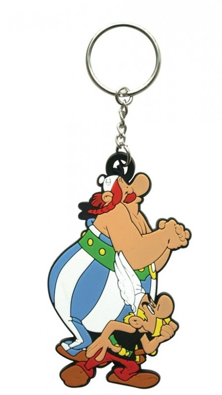 Asterix & Obelix Rubber Keychain | Keychains | The A Factor Shop