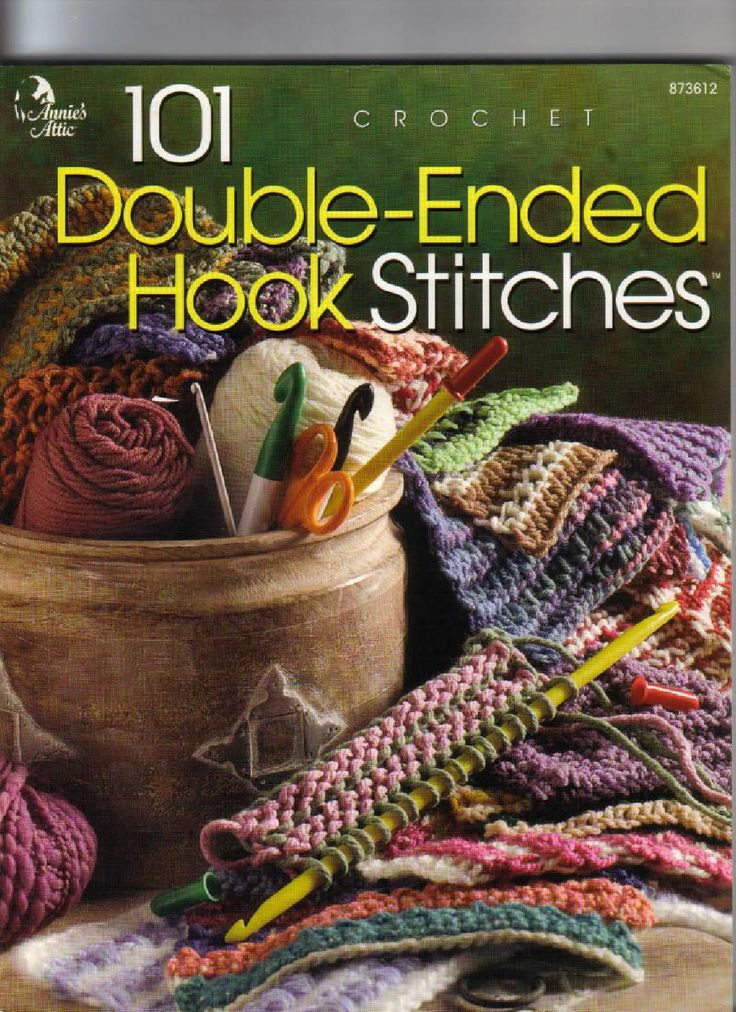 ISSUU - 101 crochet double ended hock stitches by Marlene Maldonado