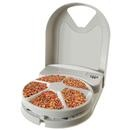Programmable 5-Meal Pet Feeder... might come in handy if you only have one dog... as for us Rocky would have it timed perfectly & gobble up all the food away from Ozzie & Peanut ...!