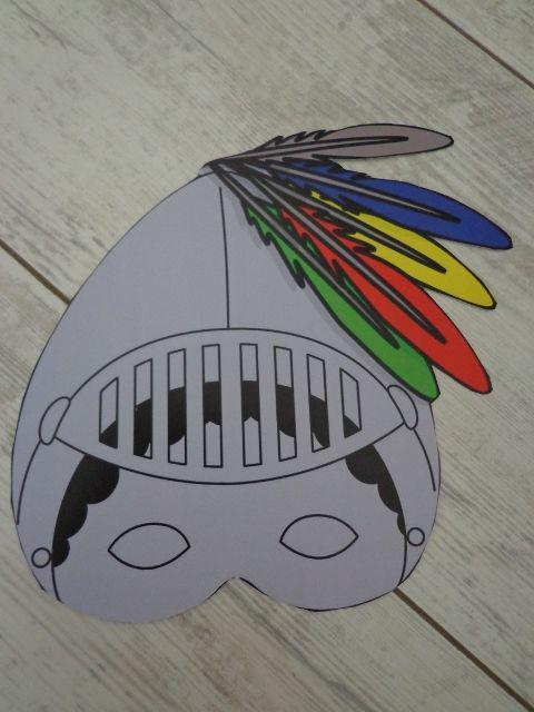 riddermasker,  op stevig karton of digitaal te bestellen!