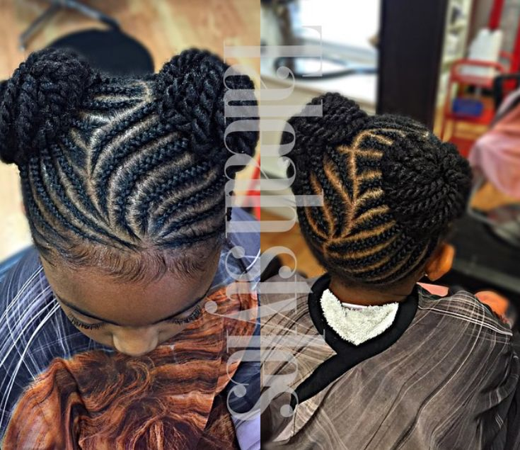 Braided Hairstyles For Kids braids for kids kid braids girls braids ghana braids little girl hairstyles kid hairstyles swirls curves beads Best 20 Black Kids Hairstyles
