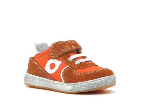 Naturino Klittenbandschoen oranje