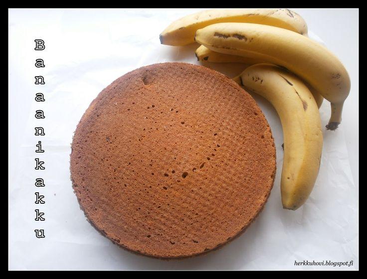 Tummuneet banaanit on hyvä hyödyntää leivontaan, niistä saadaan herkullista pannaria, vohveleita, muffineita tai vaikkapa tälläistä kahvika...