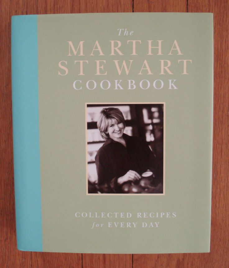 The Martha Stewart Cookbook: Collected Recipes for Every Day HB/DJ 1st Edition