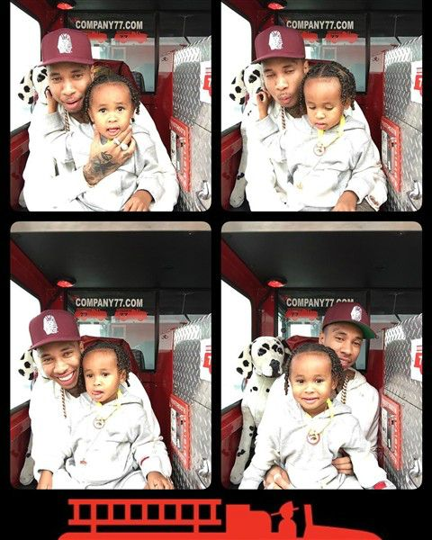 Tyga and Blac Chyna throw dueling birthday bashes for son King Cairo