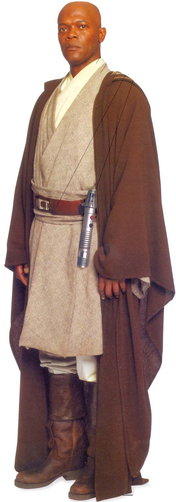 Mace Windu for Halloween costume details.