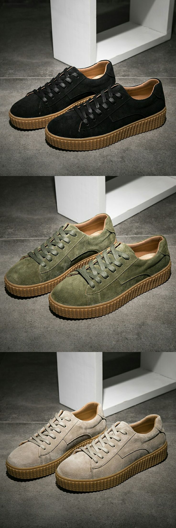93 Best Awesome Shoes Images On Pinterest Gents Mens Tendencies Sepatu Formal Reissue Dockside Tan 44 Click To Buy Prelesty Classic Men Casual Creepers Luxury Brand Vintage