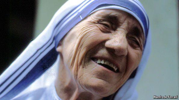 Agnes Gonxha Bojaxhiu, Mother Teresa, died on September 5th, aged 87