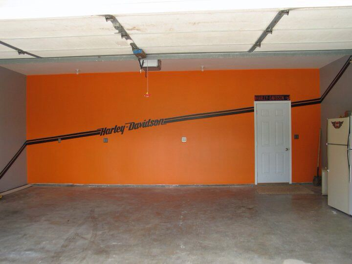 Man Cave Garage Walls : Other wall man cave garage i did that pinterest