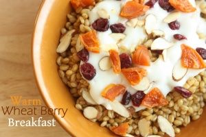Warm Wheat Berry Breakfast  | Recipes