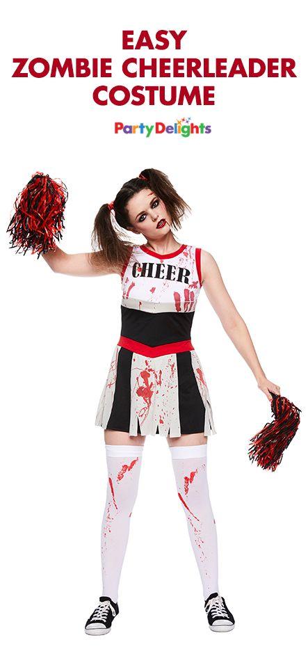 die besten 25 zombie cheerleader ideen auf pinterest zombiebraut kost m halloween kost me. Black Bedroom Furniture Sets. Home Design Ideas