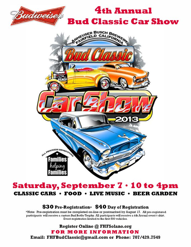 Car And Truck Show Flyer Template Dolapgnetband