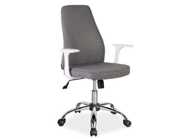 Fotel biurowy Q-139 to propozycja skierowana głównie do kobiet ponieważ zastosowana tapicerka ma wzór drobnej pepitki, która przypadnie do gustu paniom poszukującym oryginalnego fotela do pracy.  https://mirat.eu/fotele-biurowe,c239.html