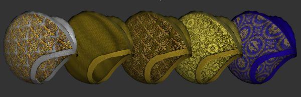Clamshell Hennin Recolors